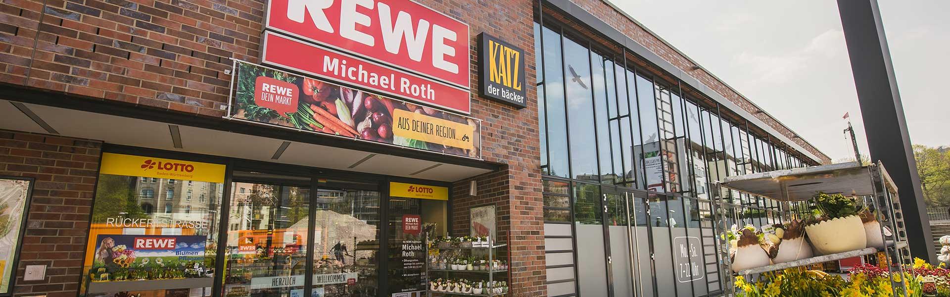 Rewe Roth Service in Stuttgart