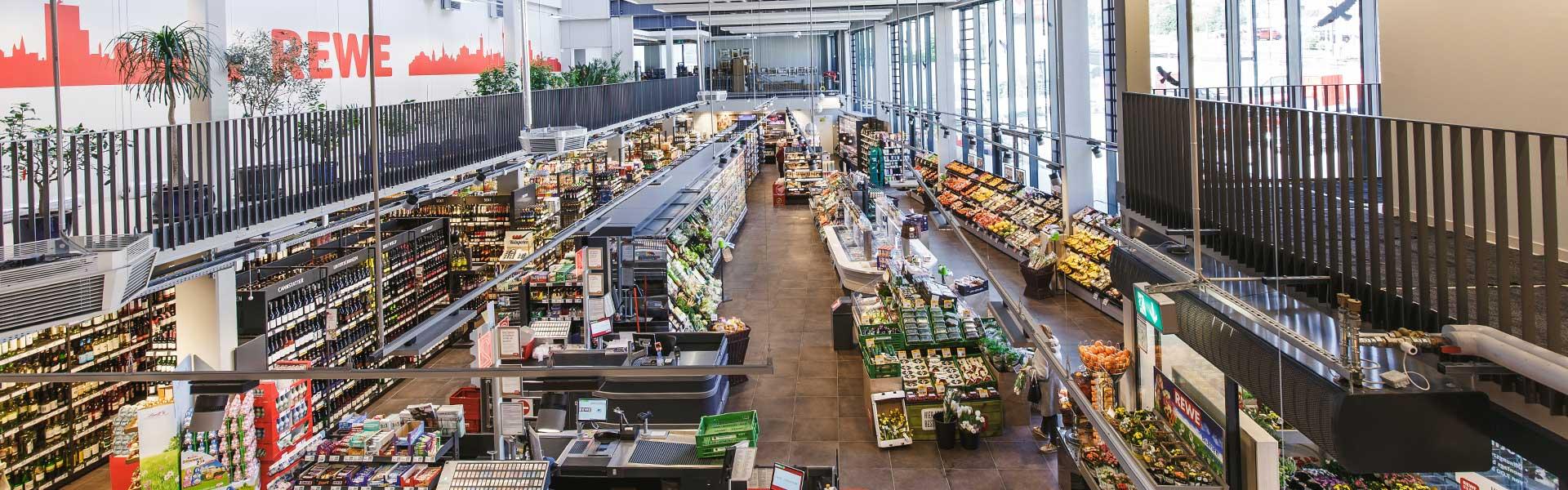 Produkte im REWE-Markt Roth in Stuttgart
