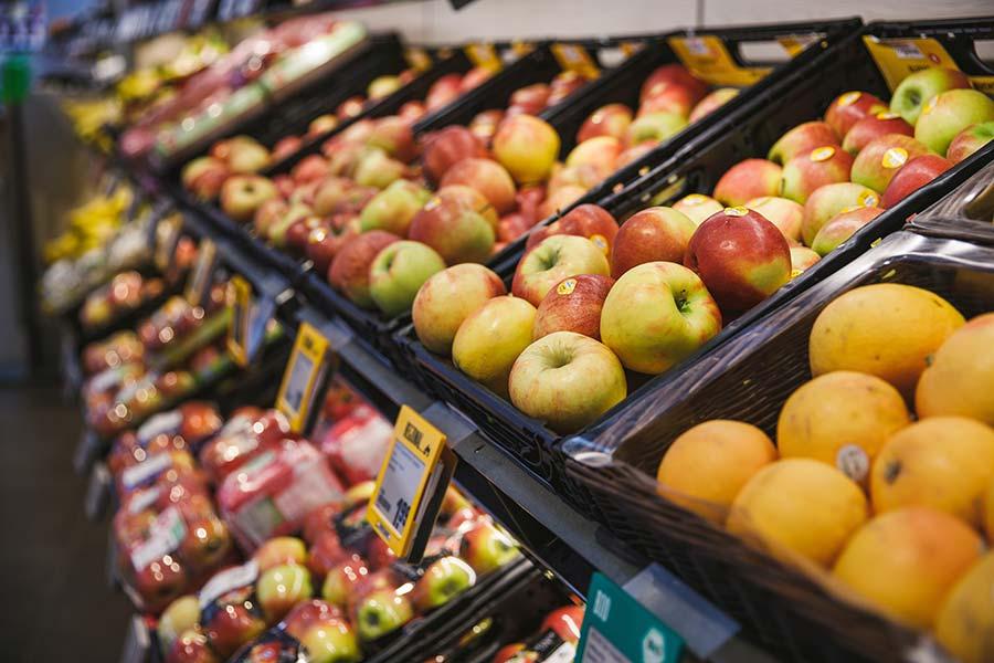 Stuttgart REWE Roth Obst und Gemüse