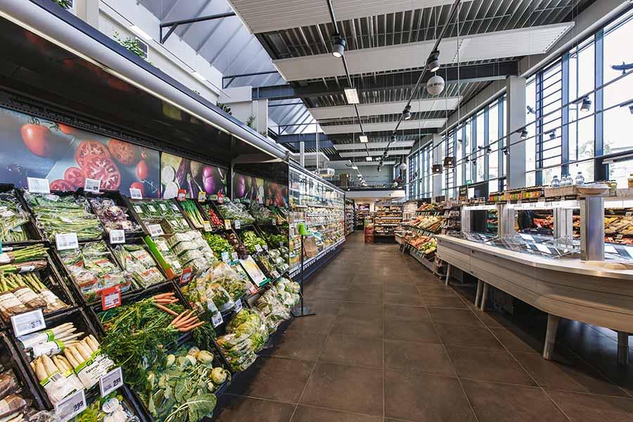 Regionale Produkte im REWE Roth